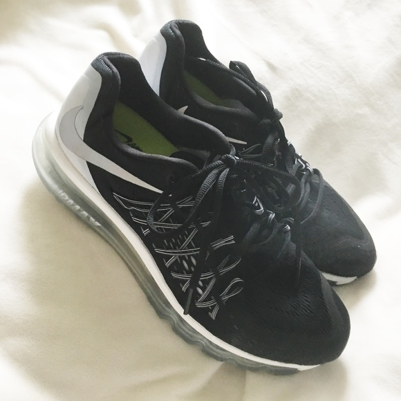 Nike Shoes   Air Max Running Neutral Ride Black Sneakers   Poshmark 7f3e296636
